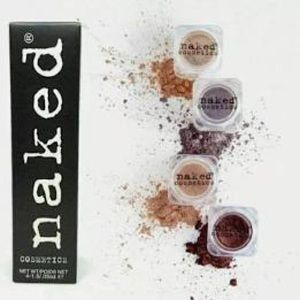 2/$15 Naked Cosmetics 4 pack eye shadow